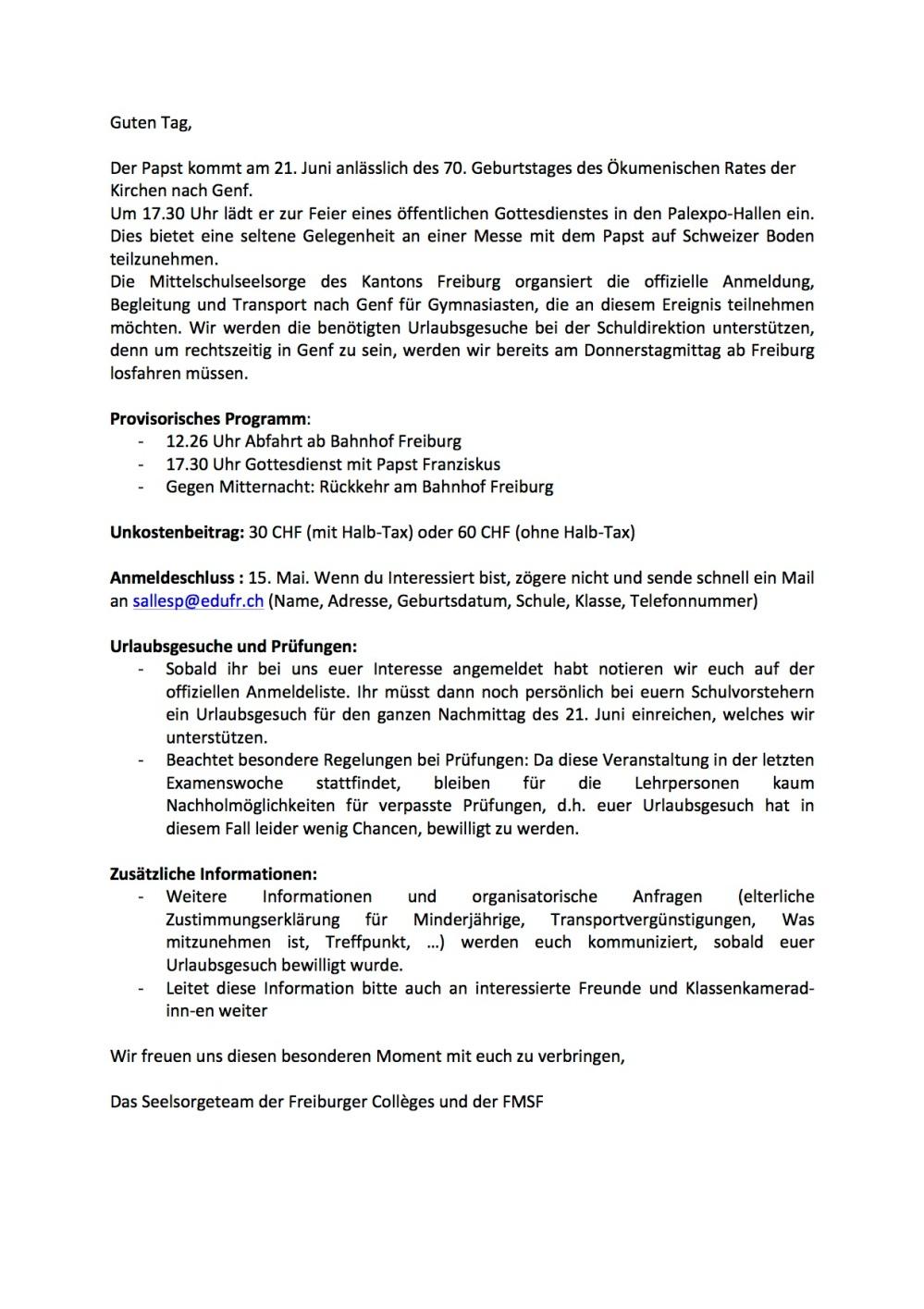 Mail an Gymnasiasten Papstmesse GE 21 Juni 2018.jpg