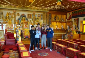 Visite Rabten Choeling 8